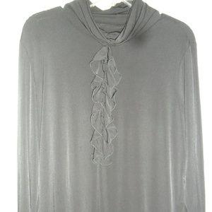 Susan Grover black blouse